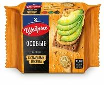 Хлебцы ржано-пшеничные Щедрые с семенами кунжута 200 г