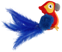 Игрушка для кошек GiGwi Melody Chaser Попугай со звуковым чипом (75459)
