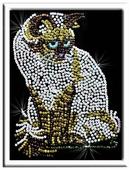 """Волшебная Мастерская Мозаика из пайеток """"Кошка"""" 019"""