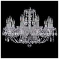 Bohemia Ivele Crystal 1406/10/195/Ni, E14, 400 Вт