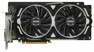 Видеокарта MSI GeForce GTX 1060 1506Mhz PCI-E 3.0 6144Mb 8000Mhz 192 bit DVI HDMI HDCP