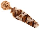 Мячик для кошек GiGwi Catch & Scratch ECO с хвостом (75439)