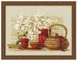 Риолис Набор для вышивания крестом Чай 30 х 24 см (1122)
