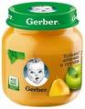 Пюре Gerber Только яблоко и груша (с 5 месяцев) 130 г, 1 шт