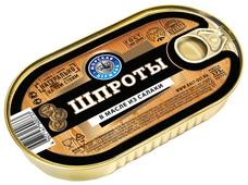 Морская Держава Шпроты в масле из салаки, 175 г