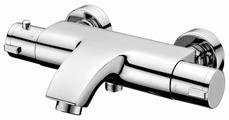 Смеситель для ванны с душем IDDIS Thermolife THESB02i74WA двухрычажный с термостатом хром