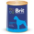 Brit говядина и рис 850g для собак 9280