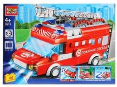 Электромеханический конструктор ГОРОД МАСТЕРОВ Пожарная служба 3513 Пожарная машина