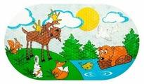 Коврик для ванной Valiant Лесные Животные