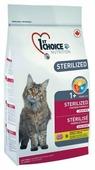 Корм для стерилизованных кошек 1st Choice Adult для профилактики МКБ, беззерновой, с курицей