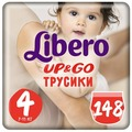 Libero трусики Up & Go 4 (7-11 кг) 148 шт.