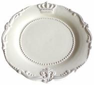 Gift'n'Home Тарелка обеденная Корона и Лилия 24 см