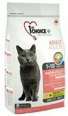 Корм для кошек 1st Choice Adult Vitality для профилактики МКБ, с курицей