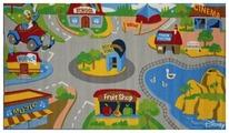 Придверный коврик VELCOC для детей на прорезиненой основе Disney Город М10004