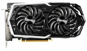 Видеокарта MSI GeForce GTX 1660 Ti 1860MHz PCI-E 3.0 6144MB 12000MHz 192 bit HDMI HDCP ARMOR OC