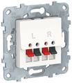 Телекоммуникационная розетка Schneider Electric NU548618, белый