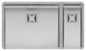 Интегрированная кухонная мойка Reginox Texas 50x40/18x40