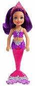 Мини-кукла Barbie Маленькие русалочки Сияющая, 15 см, FKN06