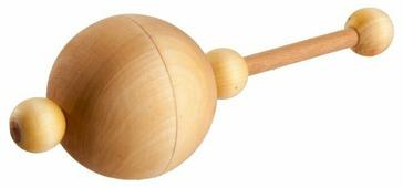 Прорезыватель-погремушка Леснушки С горохом