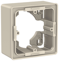Коробка наружного монтажа Schneider Electric NU800244, бежевый