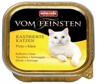 Корм для стерилизованных кошек Animonda Vom Feinsten беззерновой, с индейкой 100 г (паштет)