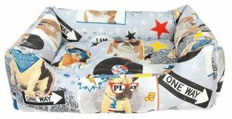 Лежак для собак PRIDE Диско Дог (10012452) 70х60х23 см