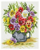 Белоснежка Набор алмазной вышивки Цветочное счастье (419-ST-PS) 20x25 см