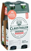 Светлое пиво Clausthaler Original безалкогольное 0,33 л 4 шт