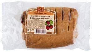 Дедовский хлеб Слойка истринская с начинкой Малина