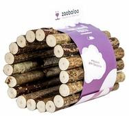 Игрушка для грызунов Zoobaloo Тоннель из орешника средний 12х10см