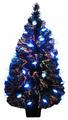Файбер Елка с синими звездами Т** 031