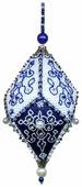 ZENGANA Набор для вышивания бисером и нитками Сапфир 6 × 10 см (М-073)