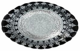 Akcam Овальное блюдо Серебро Хюррем 40 см