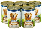 Корм для собак Happy Dog NaturLine ягненок с рисом 400г