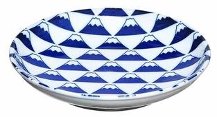 KAKUNI Тарелка Гора Фудзи 16.8 см
