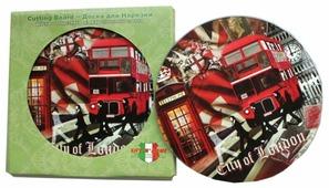 Gift'n'Home Разделочная доска Gift n Home Лондонские фантазии RCB-London 19x0.4 см