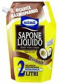 Мыло жидкое Milmil Coconut &Vanilla Bag Refill