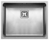 Интегрированная кухонная мойка elleci W-Square 500 54х44см нержавеющая сталь