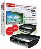 TV-тюнер D-COLOR DC702HD