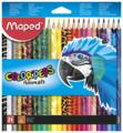 Maped Цветные карандаши Color Peps Animals 24 цвета (832224)