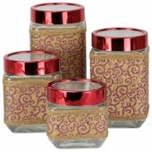 Bellavita Набор банок для сыпучих продуктов 272