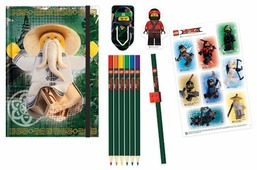Канцелярский набор LEGO Ninjago Movie (51890), 12 пр.