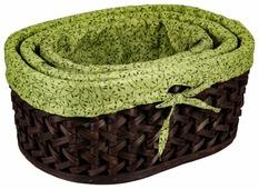 Русские подарки Набор плетеных корзинок 80350