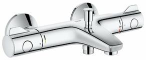 Смеситель для ванны с душем Grohe Grohtherm 800 34564000 (реверсивное подключение) двухрычажный с термостатом хром
