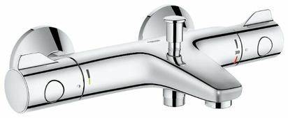 Термостатический двухрычажный смеситель для ванны с душем Grohe Grohtherm 800 34564000 (реверсивное подключение)