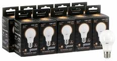 Упаковка светодиодных ламп 10 шт gauss 102502110, E27, A60, 10Вт