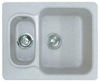 Врезная кухонная мойка GranFest Standart GF-S615K 61.5х50см искусственный мрамор