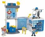 Игровой набор IMC Toys Микки и весёлые гонки: Полицейский участок 182356