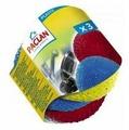 Мочалка для посуды Paclan пластиковая 3 шт