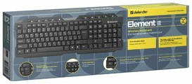 Клавиатура Defender Element HB-195 RU